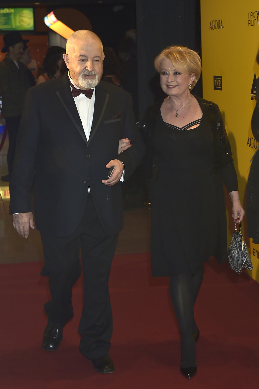 Magdalena Zawadzka i Janusz Majewski /AKPA