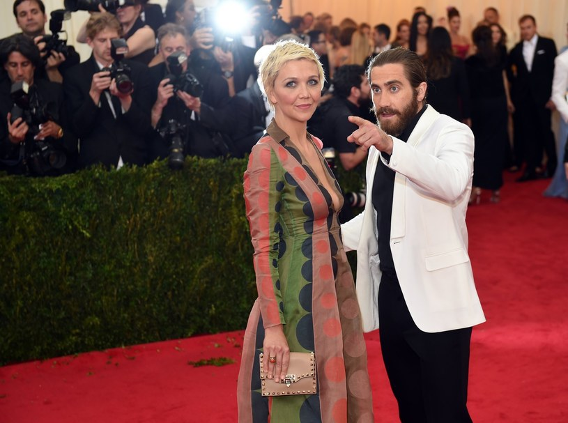 Maggie Gyllenhaal i jej brat Jake Gyllenhaal /AFP
