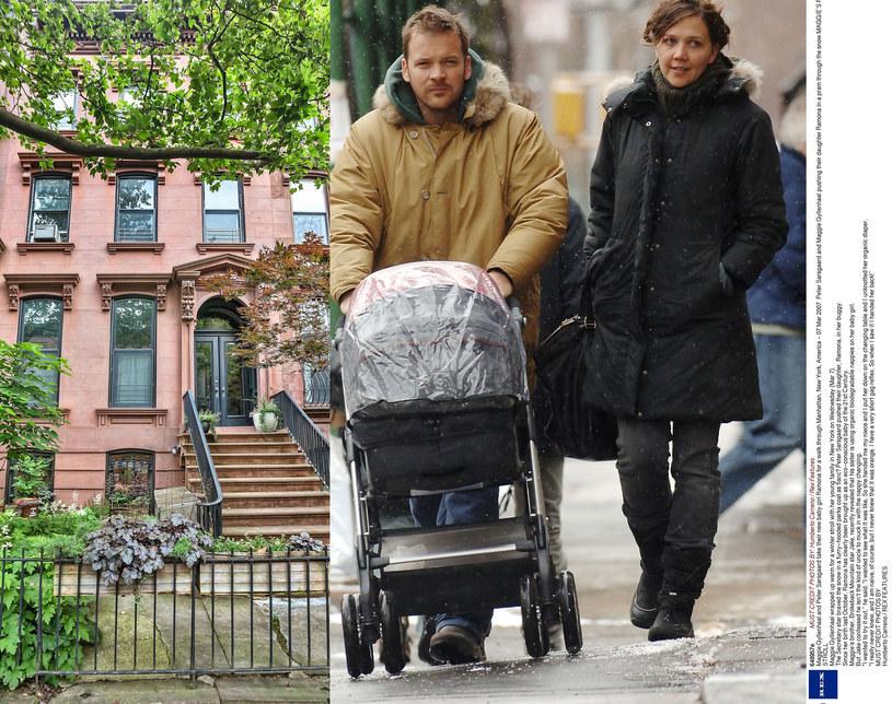 Maggie Gyllenhaal i Peter Sarsgaard sprzedają swój nowojorski dom /Humberto Carreno / Rex Features/IMP FEATURES /East News