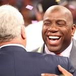 """""""Magic"""" Johnson sprzedał swoje udziały w L.A. Lakers"""