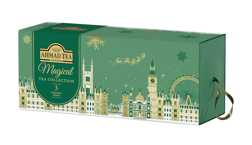 Magical Tea Collection Ahmad Tea London /materiały prasowe