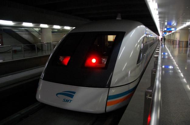 Maglev - niesamowicie szybki pociąg prosto z Chin /materiały prasowe