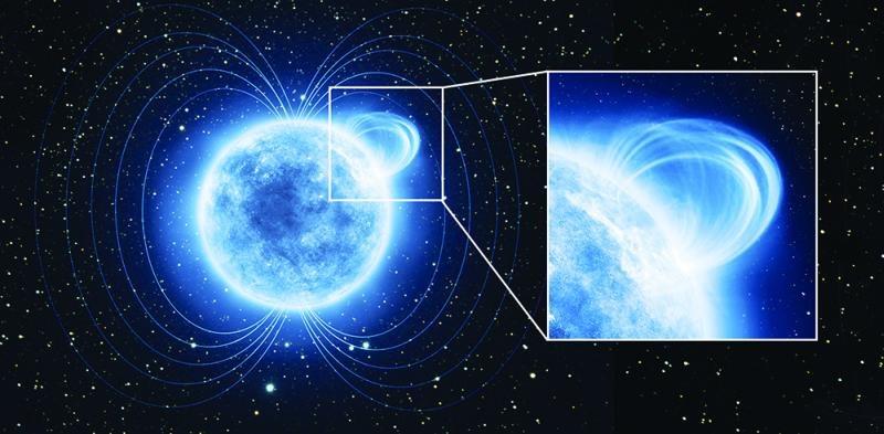 Magnetar SGR 0418+5729 posiada jednym z najsilniejszych znanych pól magnetycznych /Kosmonauta