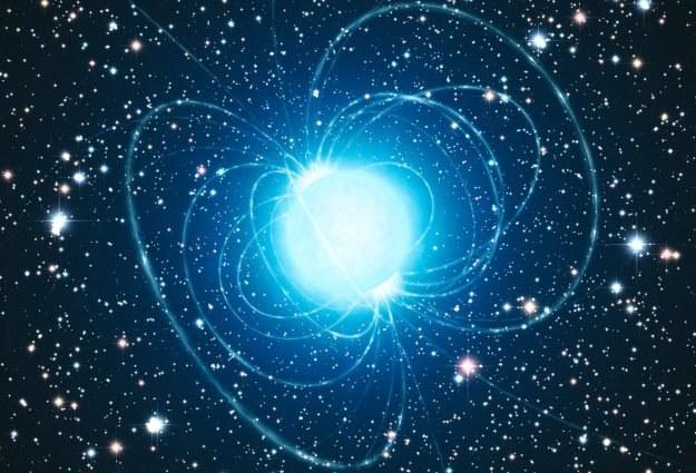 Magnetary są źródłem tajemniczych sygnałów radiowych docierających do Ziemi? /materiały prasowe