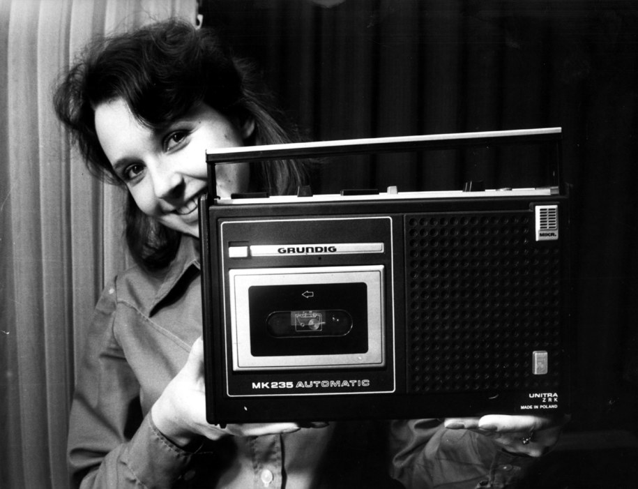 Magnetofon kasetowy MK 235 /Marian Sokołowski    /PAP