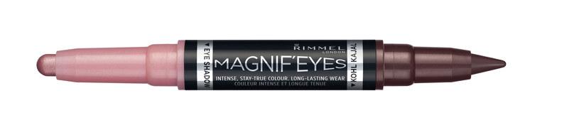 Magnif'eyes Double Eyeliners Rimmel /materiały prasowe