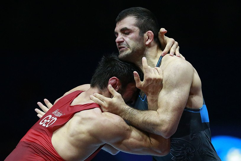 Magomedmurad Gadżijew (z prawej) /AFP
