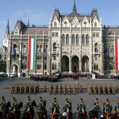 Magyar Nemzeti Bank (MNB) obniżył swoją dwutygodniową stopę depozytową do 5,75 proc. /AFP