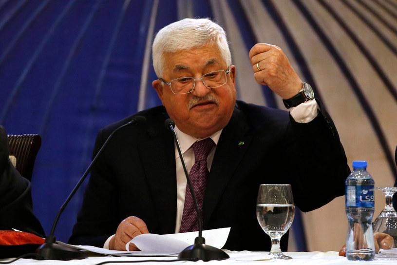 Mahmud Abbas /ABBAS MOMANI/AFP /East News