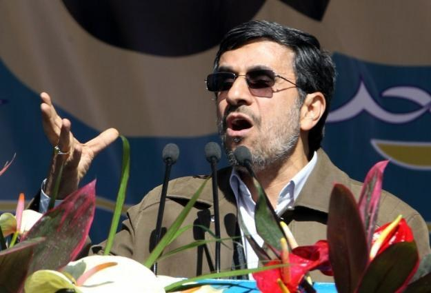 Mahmud Ahmadineżad, prezydent Iranu, chce mieć własny internet /AFP