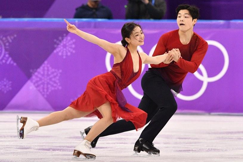Maia i Alex Shibutani /AFP