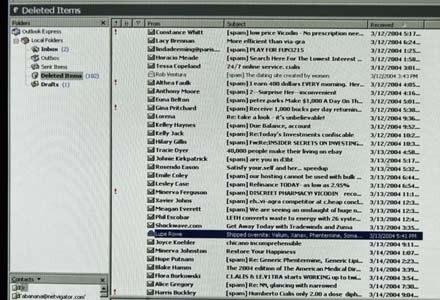 Maile phishingowe nie są już tak powszechne jak kiedyś, ale internet wcale nie jest bezpieczniejszy /AFP