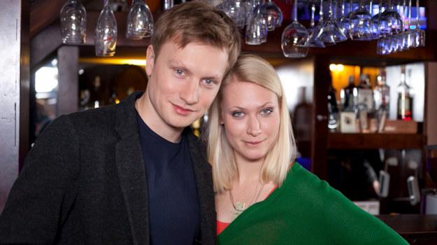 Maja (Agnieszka Żulewska) i Igor (Jakub Wesołowski) /fot  /Agencja W. Impact