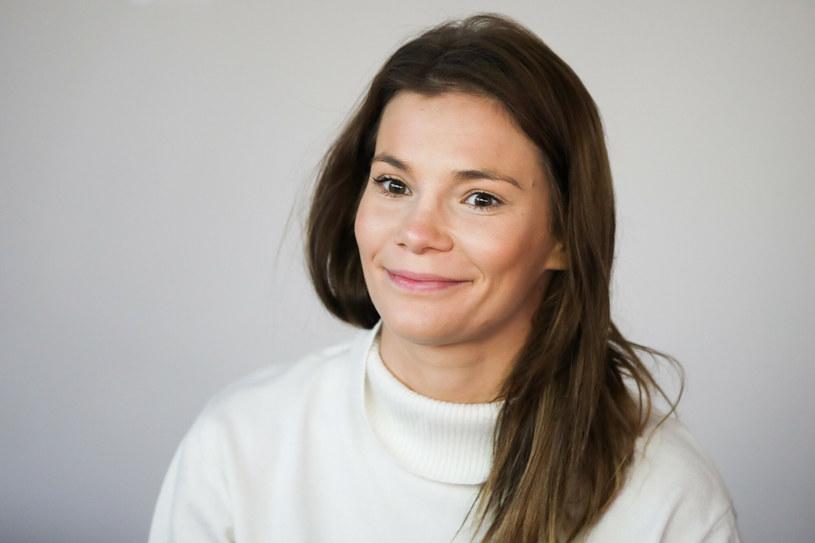 Maja Bohosiewicz postanowiła zadbać o formę na fit wyjeździe /Beata Zawrzel /East News