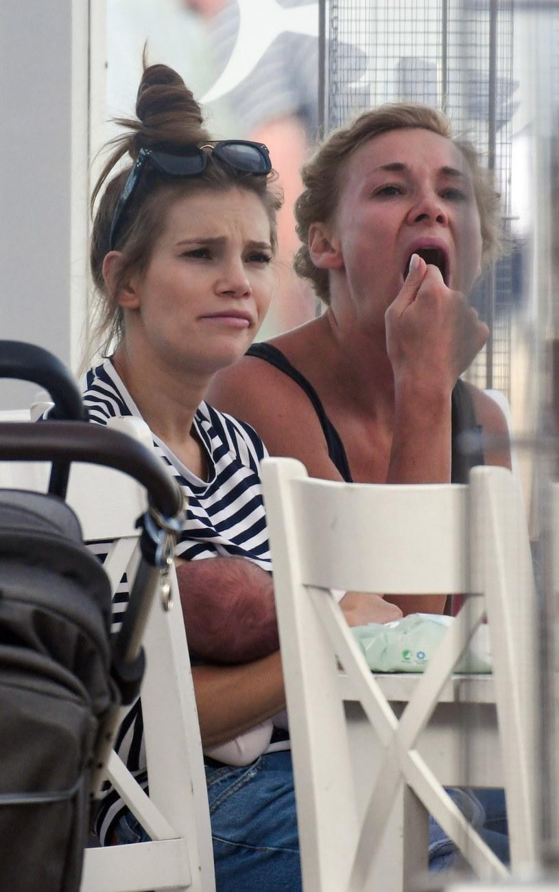 Maja Bohosiewicz z siostrą Sonią /Newspix
