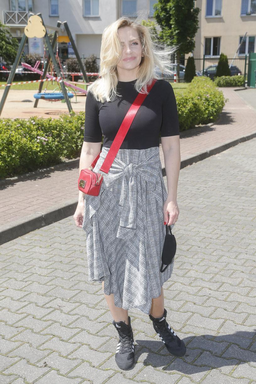 Maja Frykowska obecnie /Baranowski /AKPA