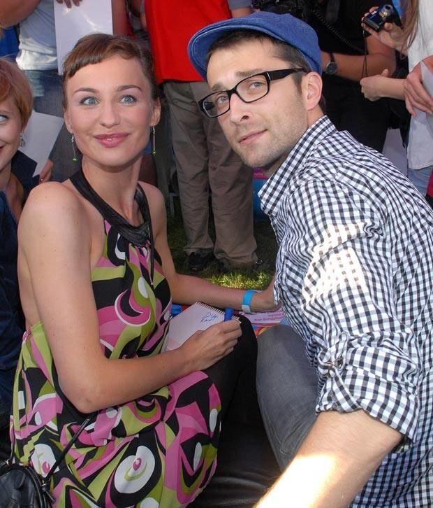 Maja Hirsch i Filip Bobek, fot. Marek Ulatowski  /MWMedia