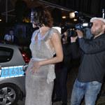 Maja Hirsch na imprezę przyjechała... radiowozem!