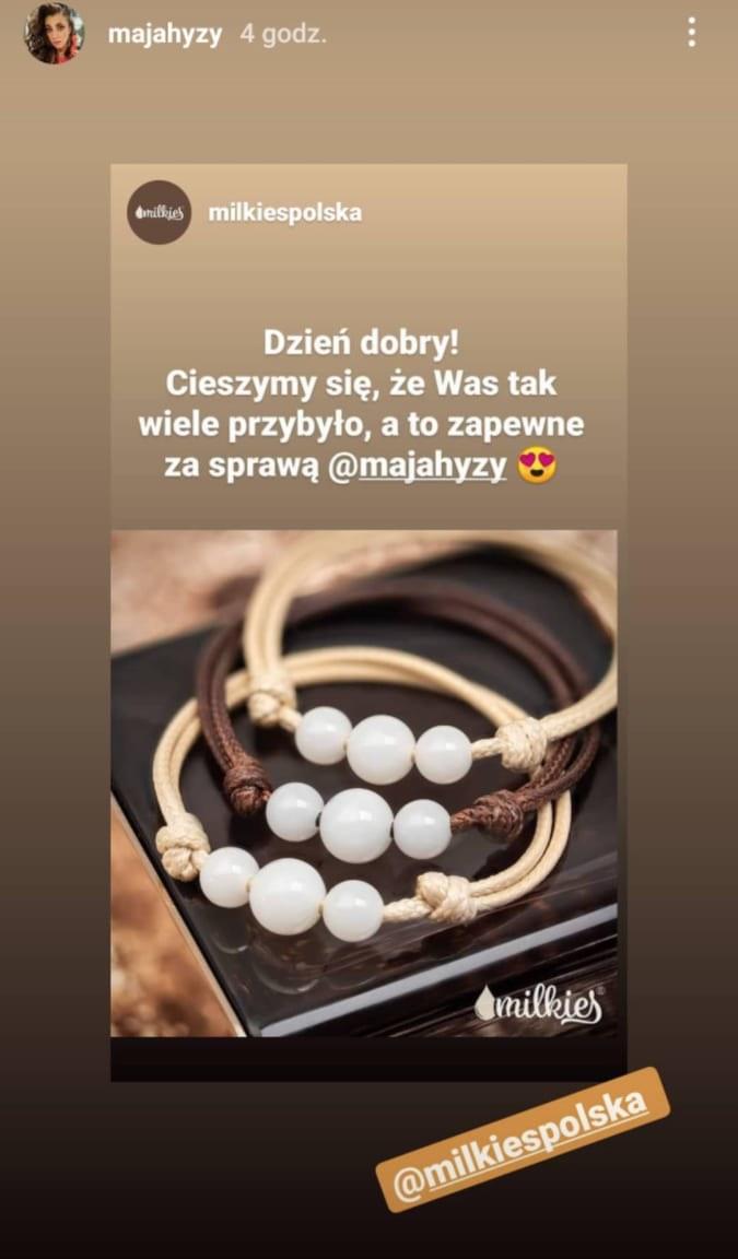 Maja Hyży https://www.instagram.com/majahyzy/ /Instagram /Instagram