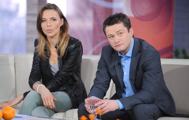 """Maja i Jarek w """"DDTVN"""", fot.Bartosz Krupa  /East News"""