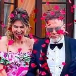 Maja i Krzysztof Rutkowscy świętowali rocznicę ślubu. Wyprawili huczne przyjęcie