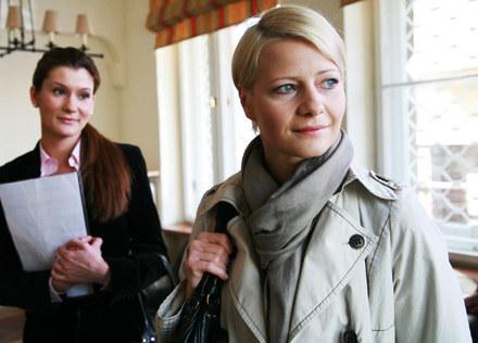 Maja Kryńska (M.Kożuchowska) wynajmuje mieszkanie /Polsat
