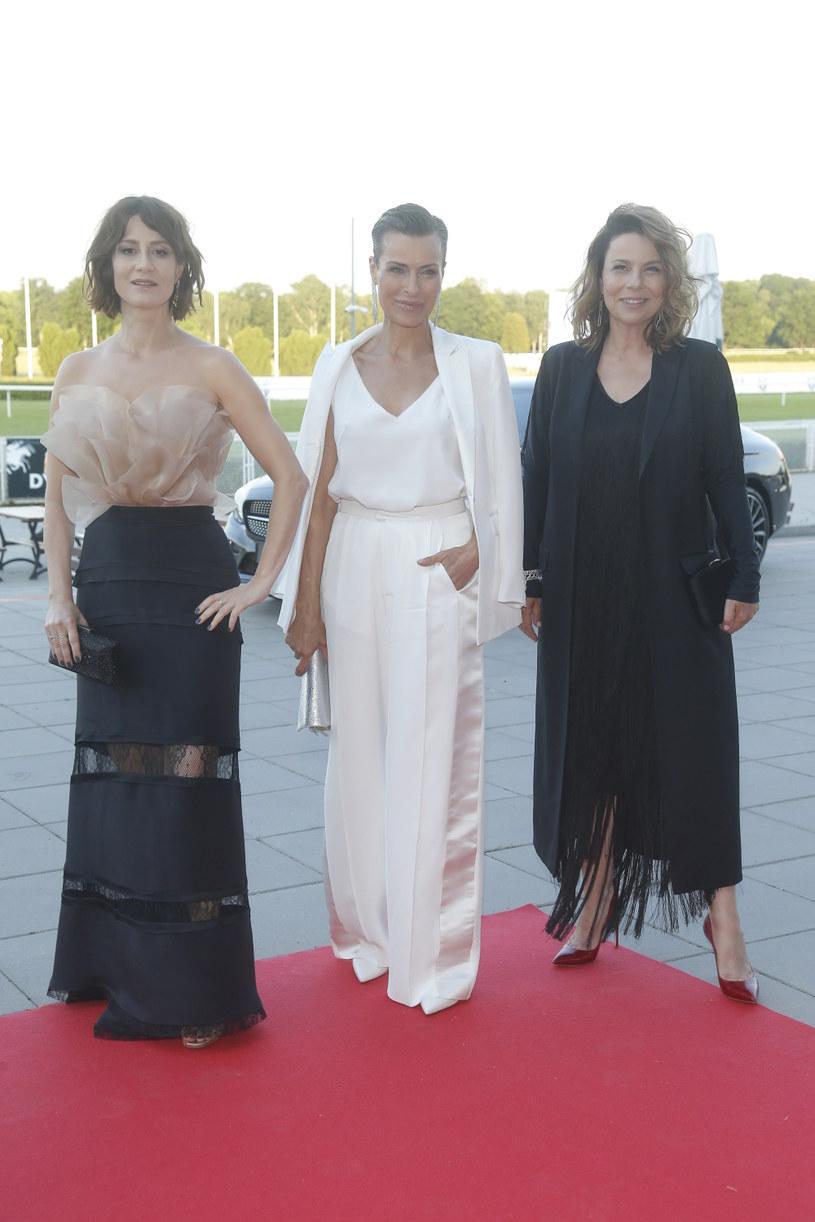 Maja Ostaszewska, Agata Kulesza i Danuta Stenka /Baranowski /AKPA