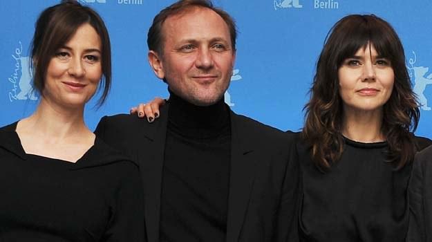 Maja Ostaszewska, Andrzej Chyra i Małgośka Szumowska na tegorocznym Berlinale - fot. P. Le Segretain /Getty Images/Flash Press Media