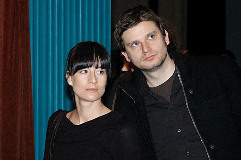 Maja Ostaszewska i Łukasz Barczyk, 2005 rok /Niemiec /AKPA