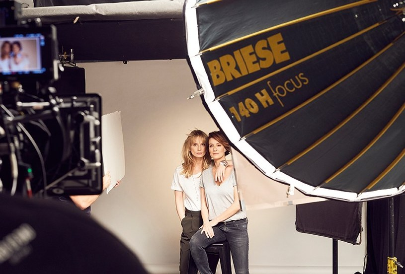 Maja Ostaszewska i Magdalena Cielecka to żywy przykład na to, iż można przyjaźnić się prywatnie i równocześnie wspierać w karierze zawodowej /materiały prasowe