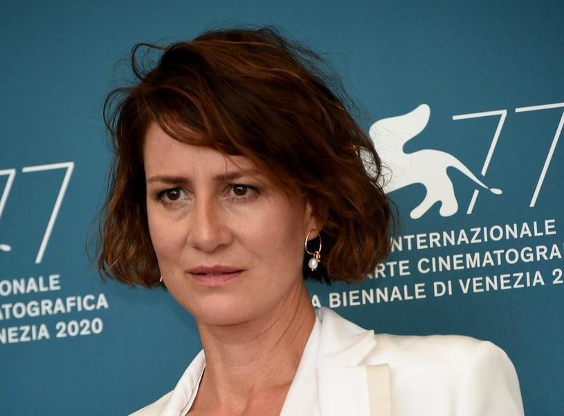 Maja Ostaszewska podczas festiwalu filmowego w Wenecji /Tony Clifton / SplashNews.com /East News