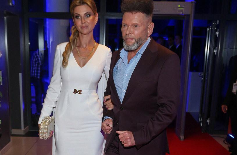 Maja Plich i Krzysztof Rutkowski to barwna para, która wielokrotnie przechodziła burze i kryzysy w swoim związku /Kamil Piklikiewicz /East News