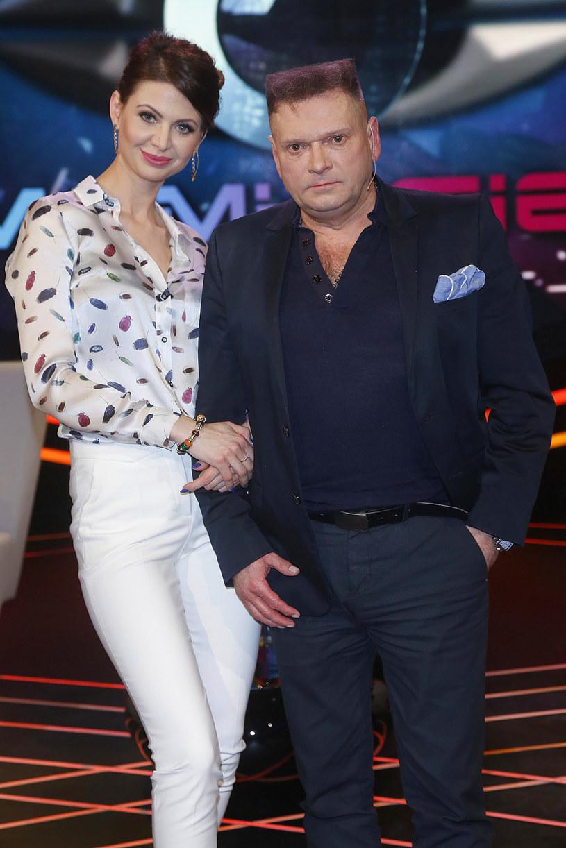 Maja Plich i Krzysztof Rutkowski /AKPA