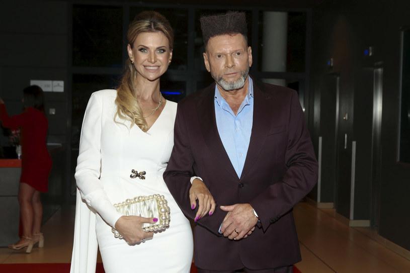 Maja Rutkowski z mężem Krzysztofem /Adam Jankowski /Reporter