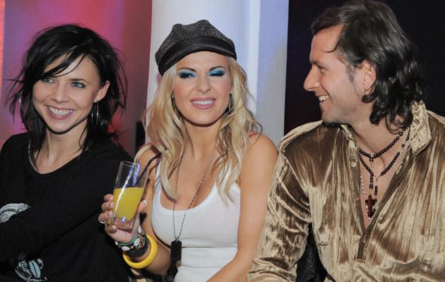 Maja Sablewska, Doda, Radek Majdan, fot.Andras Szilagyi  /MWMedia