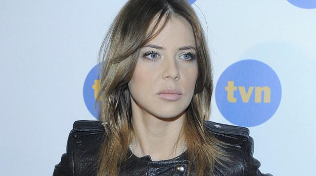 Maja Sablewska podczas prezentacji wiosennej ramówki telewizji TVN / fot. Baranowski /AKPA