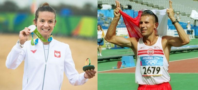 Maja Włoszczowska i Robert Korzeniowski chorążymi polskiej reprezentacji na igrzyskach w Tokio /