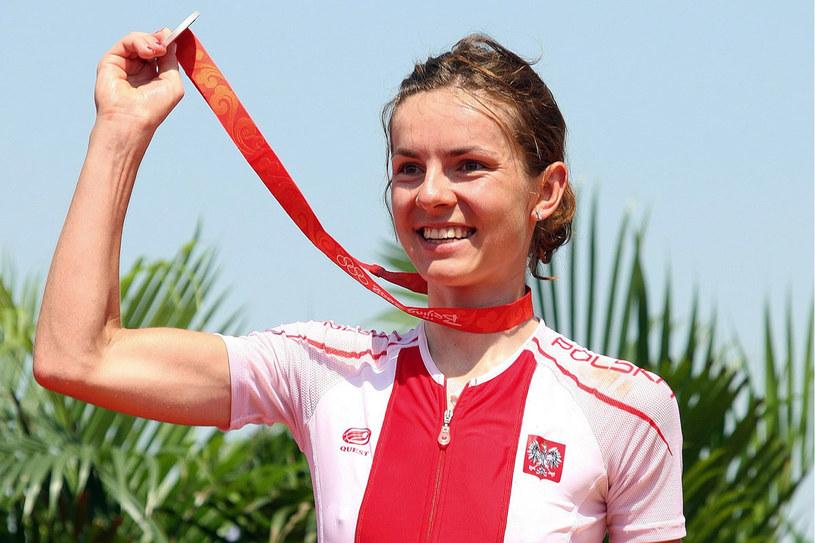 Maja Włoszczowska ma medale najważniejszych imprez kolarstwa górskiego /AFP