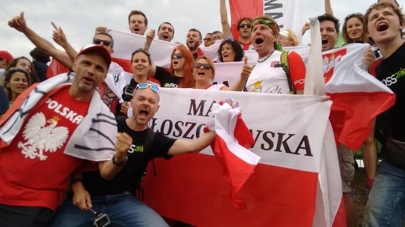 Maja Włoszczowska miała w Rio wsparcie kibiców /Fot. Mirosław Ząbkiewicz /INTERIA.PL