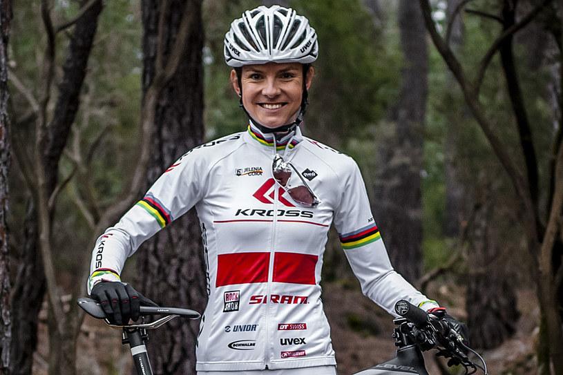 Maja Włoszczowska, zawodniczka Kross Racing Team /Styl.pl/materiały prasowe