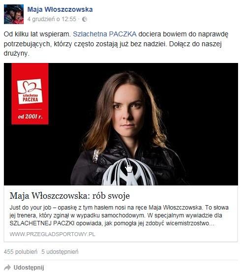 Maja Włoszczowska /PUSTE /
