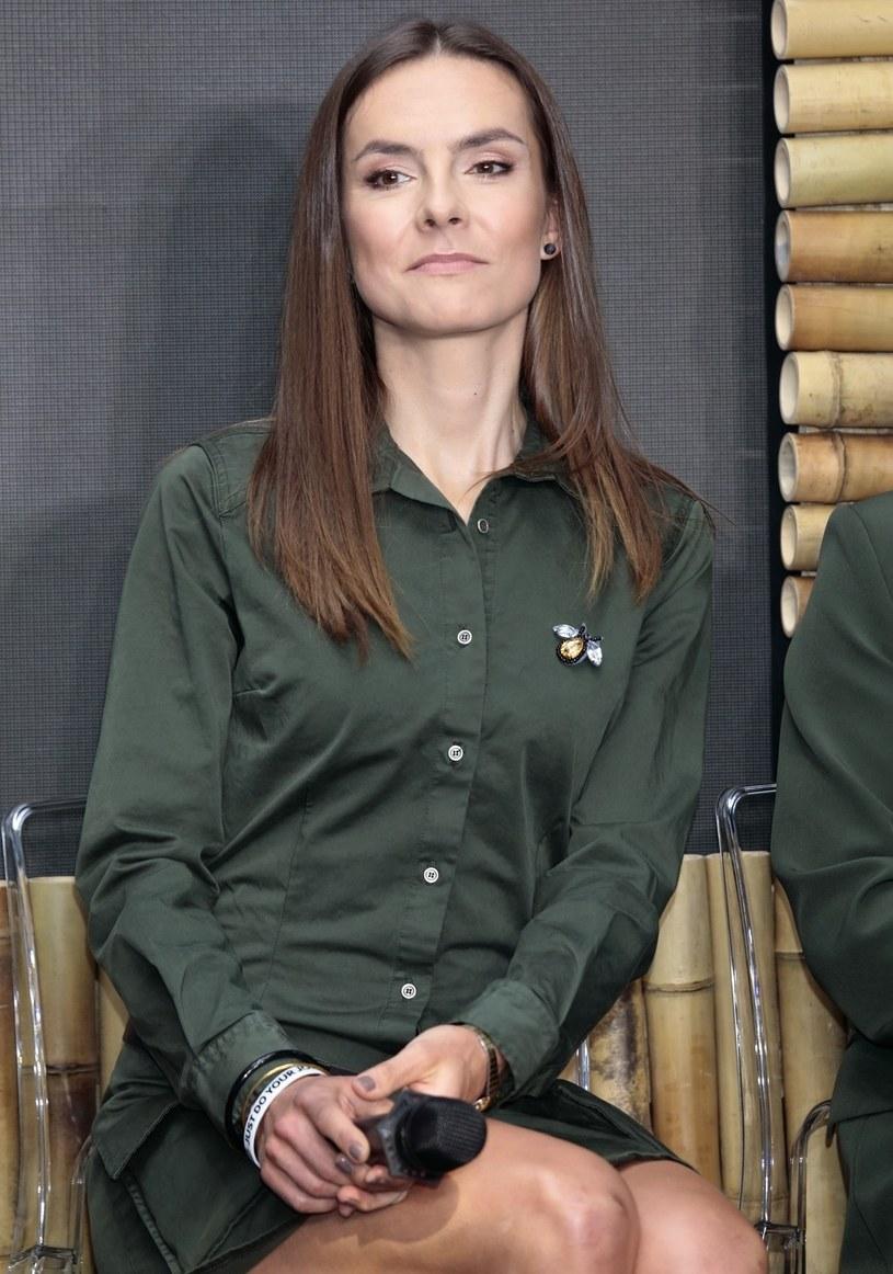 Maja Włoszczowska /Jankowski/REPORTER /East News