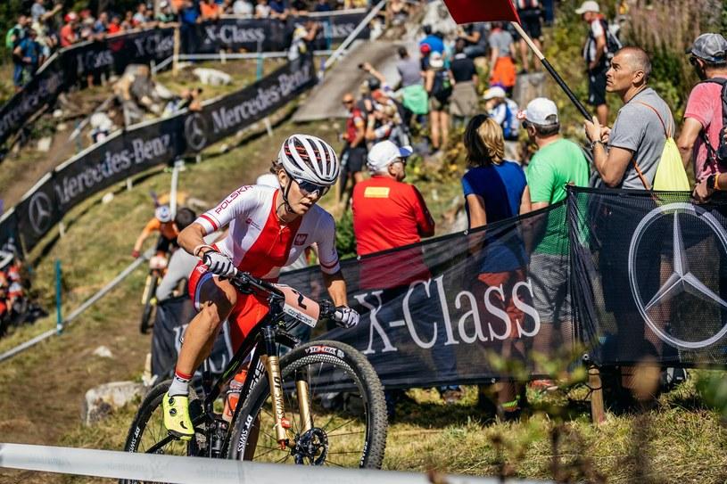 Maja Włoszczowska /Fot. Piotr Staroń / Diverse Downhill Contest /materiały prasowe