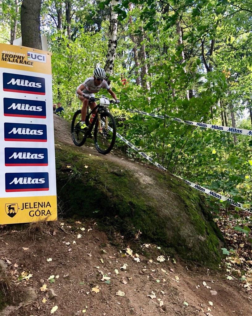 Maja Włoszczowska /Kornel Osicki/Kross Racing Team /