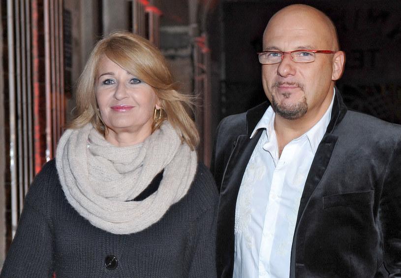 Majka Jeżowska i Piotr Gąsowski /Andras Szilagyi /MWMedia