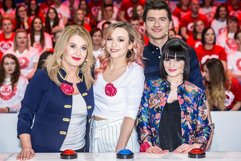 Majka Jeżowska, Saszan, Ewelina Lisowska i Tomasz Kammel /Gabriela Machlowska /TVP