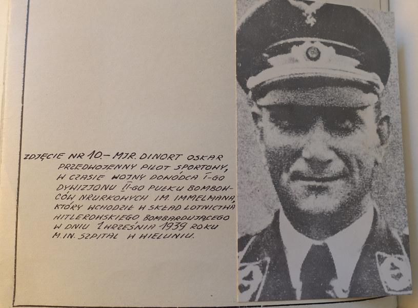 Major Oskar Dinort w dokumentach śledztwa Oddziałowej Komisji Ścigania Zbrodni przeciwko Narodowi Polskiemu w Łodzi /INTERIA.PL