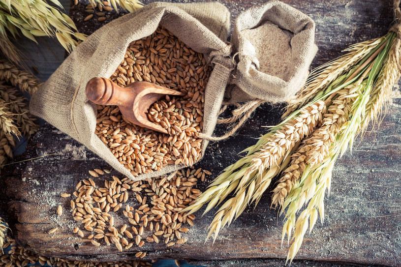 Mąka pełnoziarnista powstaje z przemiału pełnego ziarna /123RF/PICSEL