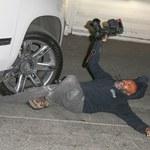 Makabryczne zdjęcia! Kierowca Jennifer Lopez potrącił człowieka i odjechał