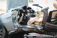 Makabryczny wypadek w Krościenku Wyżnym